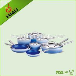 9pcs ustensiles de cuisine en acier inoxydable ensemble en aluminium