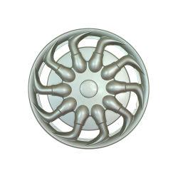 Universal 14 pulgadas de ABS de plata cubierta de la llanta de coche