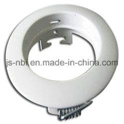 Alojamento da fundição de moldes de metal da China Fábrica com pintura branca