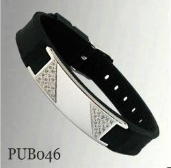 Bracelet en caoutchouc (pub040xi)