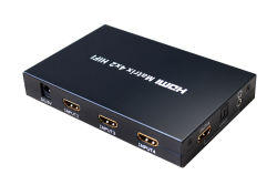 Matrice de Hi-fi HDMI 4 en 2 out (HDMX0402HIFI)