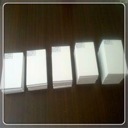 단단한 PVC Forex 장 1.22*2.44m 백색 Celuka PVC 거품 장