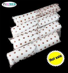 Les femmes/dame/féminin biodégradable doux SMS/PP/nontissé/Impression/sanitaires en coton imprimé culotte jetable avec tampon