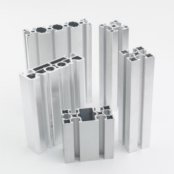 OEM/ODM индивидуальные штампованный алюминиевый профиль для сборочной линии