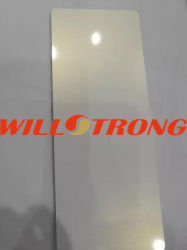 /Aluminum-zusammengesetztes Material Chamäleon-des weißen Farben-zusammengesetzten Aluminiumpanels