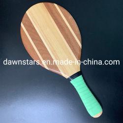 Jeu de raquette de tennis de plage en bois avec couvercle, de la plage des palettes