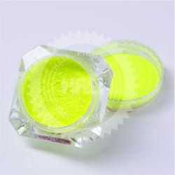 Nouveau jeu de 7 boîtes de couleur vive de la poudre effet néon pigment fluorescent Nail Art gel Poudre Poussière Glitter Pigment Décoration bricolage BFP29