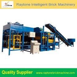 O Qt4-25 simples máquinas de bloco de concreto Oco Automática Espalhadoras máquina para fabricação de tijolos sólidos