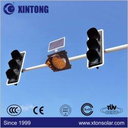 Xintong 태양 전지판을%s 가진 노란 비상사태 번쩍이는 차량 도로 LED 태양 소통량 경고등