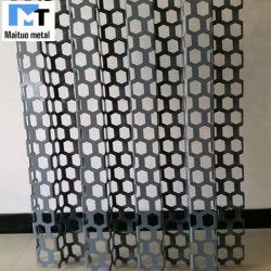 Decorativo arquitectónico de la Malla de Metal Expandido perforadas hojas de aluminio/placa de pared de cortina