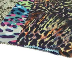 Tissu polyester Silk-Like mousseline de soie imprimée