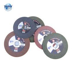 China Factory 125*1.6*22mm vínculo de resina de esmerilhamento abrasivo roda de corte