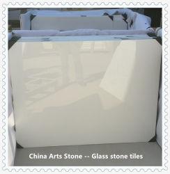 Vidro branco/pedra pedra Jade/ transparente de ladrilhos de pedra