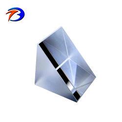 90度モニタリングの調査プリズムのための直角プリズム光学ガラスレンズの小型プリズム