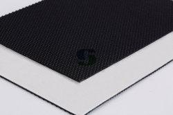 3.0mmの黒いゴルフ柔らかいファブリック携帯用PVCコンベヤーベルト
