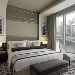 Спальни наборы мебели кроватью размера люкс отеля Suite