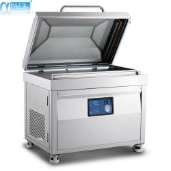 El tipo L vacío único soporte de la junta de sellado selladora máquina de envasado Envasado para Carne alimentos vegetales (AV-800)
