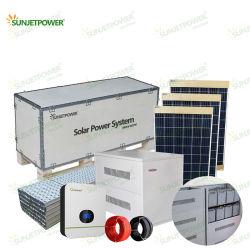 Off Grid 2kw Solarmodul 3kw Ausgang Solargenerator für Solar-Home-System mit Jinko Ja Solar Panel Growatt Inverter Eigenständiges Hybrid-Solarsystem Für Den Außenbereich