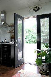 Hot vente Portes pour l'aluminium tempête moderne Casement porte avec double vitrage3. Haute qualité de porte en aluminium à battants commerciale