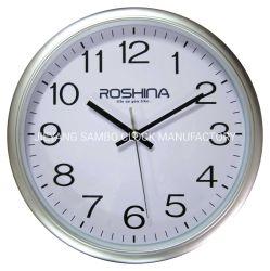 Commerce de gros de la promotion de l'horloge de cadeaux en plastique personnalisé