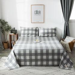 Новейшие разработки кровать титульный лист отель хлопка кровать в мастерской