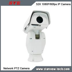 52X 1080P/60 FPS Câmara PTZ de rede