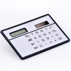 호리호리한 신용 카드 싼 태양 에너지 소형 계산기 참신 작은 여행 콤팩트 계산기