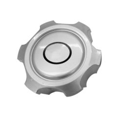 136mm Plata centro de la rueda de plástico de la tapa tapa de llanta