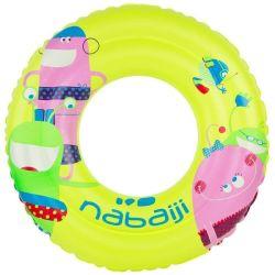 Kids brinquedo água insufláveis nadar Ring 5-9 anos com flutuação Pool Chanmber duplo