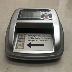 N10 Euro USD GBP Contador mano Feit Tienda de billetes Máquinas de Facturación Bill Counter