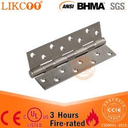 Charnière à usage intensif en acier inoxydable pour les portes en métal