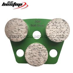 Трапецеидальный Bestop алмазные инструменты с 3 кнопками