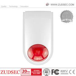 Commerce de gros de la Chine nouvelle batterie exploité sans fil WiFi de la télécommande avec sirène alarme 130dB Voice Alarm