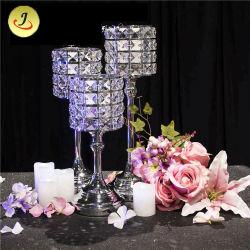 Творческие простой Votiv холсте занимает центральное место для проведения свадеб таблица/украшения стекла при свечах держатель