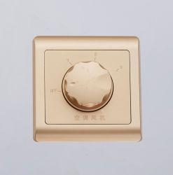 Стены потолок поворотный регулятор скорости вентилятора настенный переключатель ручного регулятора яркости освещения приборов