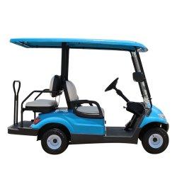 Lvtong 4-местный электрического поля для гольфа с пневматической тележки складные сиденья для клуба, поле для гольфа, гостиницы, школы