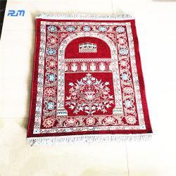 Мусульманских мотивов рельефным одеяло гобелены мягкий коврик двери молитвы коврик