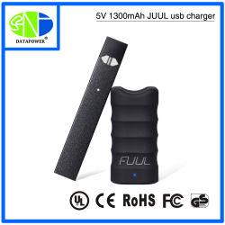 Настраиваемое портативное зарядное устройство USB 1000Мач 1300 Мач Juul Электронные сигареты зарядное устройство с функцией интеллектуального управления