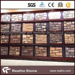 販売のための良質のよい価格ののどの石のベニヤの壁パネル