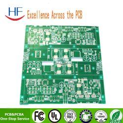 Placa de circuito de doble cara proceso Chinaplug fabricada en placa de circuito impreso PCB a través de la placa de circuito de tapón del orificio de placa de circuito impreso de doble cara