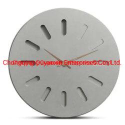 고품질 장식 유럽 MDF 나무 벽 시계