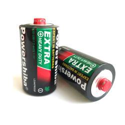 Mercúrio ambiental 1,5V Bateria soma1 R20 Bateria Zinco Carbono Bateria Seca