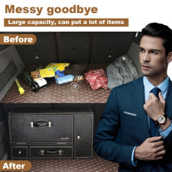 Portelli della decorazione interna dell'automobile di buona qualità doppi e casella di memoria dei cassetti per SUV