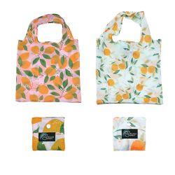 エコフレンドリー RPET 卸売カスタムロゴポリエステル折りたたみ式再利用可能ショッピング バッグ