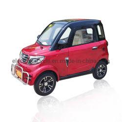 Nueva energía barata pequeño coche eléctrico de 4 ruedas con 3 asientos Batería adultos con una alta velocidad precio barato de China