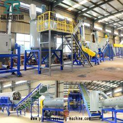 500kg/H-1000kg/H Plastikzylinder/Glas/Becken/Korb/Schrott HDPE Flasche, die Maschine aufbereitet
