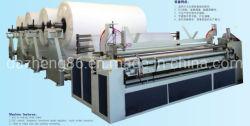 Bord automatique le gaufrage Rembobinage et machine à papier de toilette de perforation