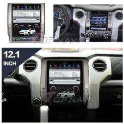 12,1'' Tesla стиле Android для Toyota тундре 2014-2018 автомобильной мультимедийной системы навигации GPS плеер автоматически головного устройства аудиосистемы