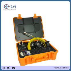 Conduite de détection Endouscopicr industriel étanche tuyau Videoscope caméra avec écran 8 pouces