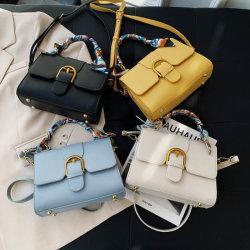 2020 последней стиле моды простая конструкция провод фиолетового цвета кожи женщин взять на себя сумки кошельки и сумки